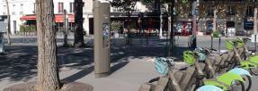 Une nouvelle station Velib' à Paris - Crédit photo velib-metropole.fr