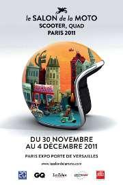 Affiche du Salon de la Moto 2011