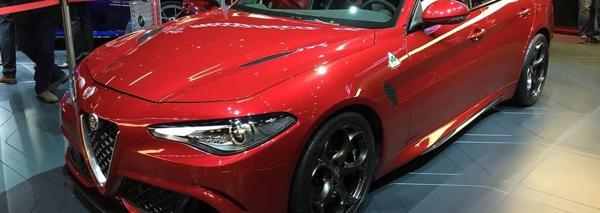L'Alfa Romeo Giulia élue plus belle auto 2016