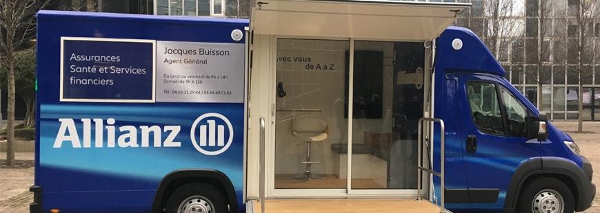 Pour aller à la rencontre de ses assurés, Allianz a créé l'Agence Mobile