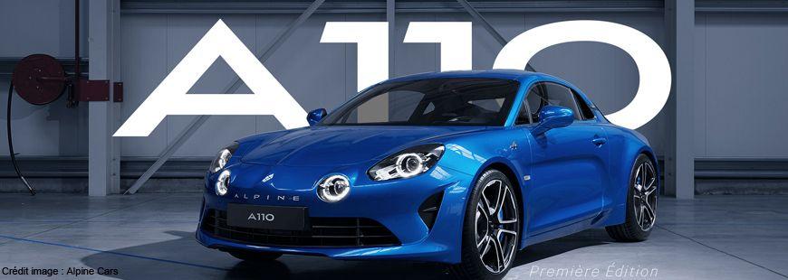 L'Alpine A110 a été élue plus belle voiture de l'année 2017 par les internautes