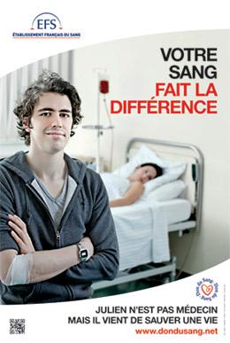 Lancement de la campagne d'appel aux dons de l'Etablissement Français du Sang