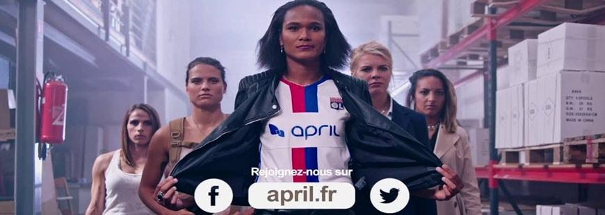 Le groupe APRIL engagé pour 3 ans avec les féminines de l'Olympique lyonnais
