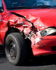 voiture-accident-rouge