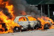 Un feu de voiture. Comment est-ce indemnisé