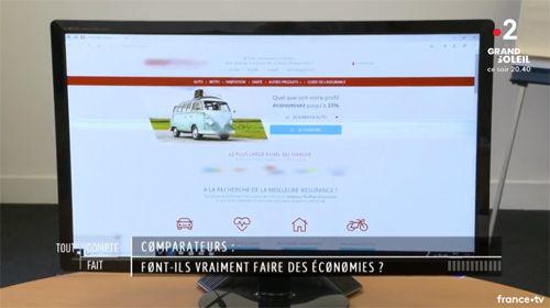 Assurland, interviewé pour l'émission Tout Compte fait sur France 2