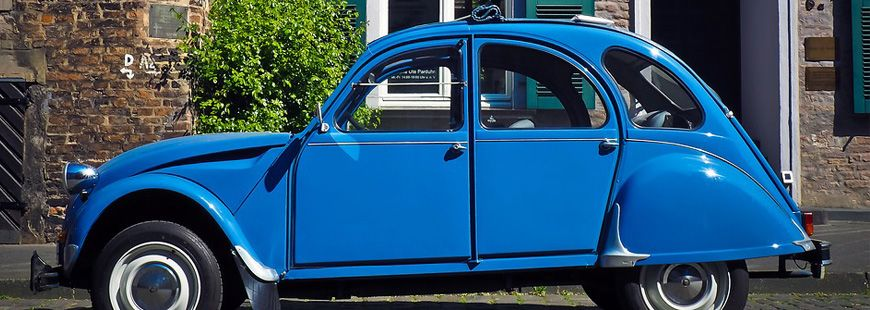 La Citroën 2 CV est le véhicule de collection le plus recherché par les Français