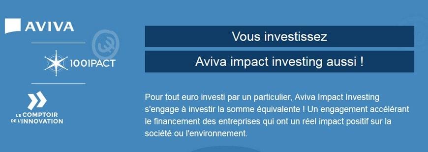 Aviva se lance aussi dans le crowdfunding avec le site 1001PACT
