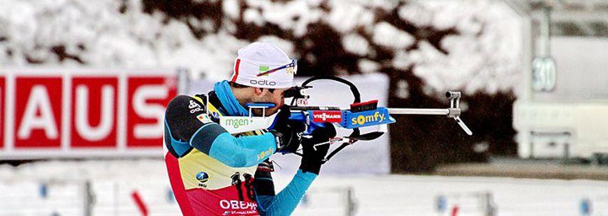 Le biathlète Martin Fourcade est le porte-drapeau français des JO d'hiver 2018