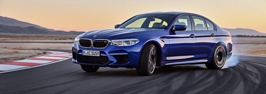 La nouvelle BMW M5 en mode propulsion ou transmission intégrale