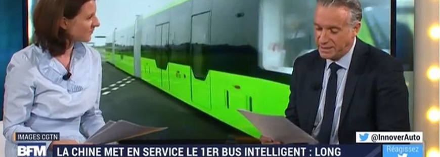 Transport en commun : voici le 1er bus intelligent et autonome