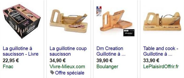 guillotine-saucisson