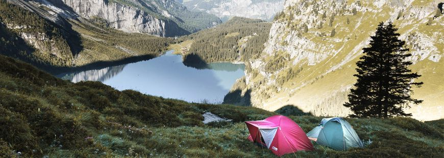 Posez votre tente dans le jardin d'un particulier