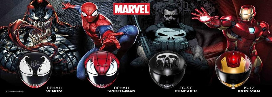 casque-moto-super-heros-marvel