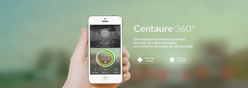 Découvrez l'appli mobile  « Centaure 360° » en réalité virtuelle