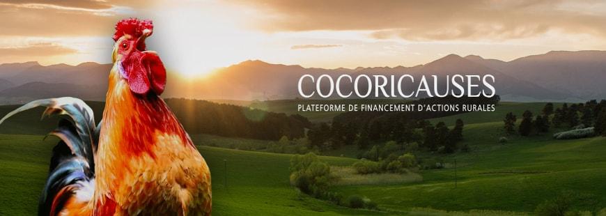 Découvrez COCORICAUSES, la nouvelle plateforme de « crowdfunding »