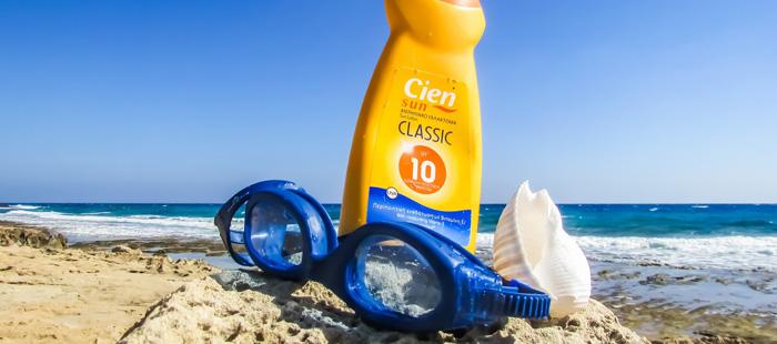 creme-solaire-lunettes-natation-plage-soleil