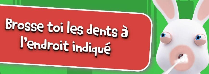 Brossez-vous les dents efficacement avec Les Lapins Crétins
