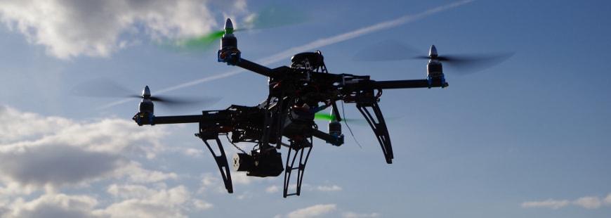 Les drones servent aussi à l'évaluation des sinistres