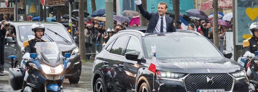 La DS7 Crossback, le choix de Macron pour sa voiture présidentielle