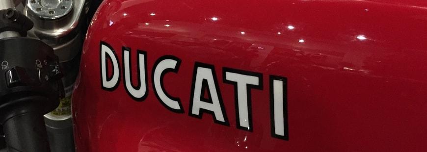 Ducati propose désormais une assurance moto à ses clients
