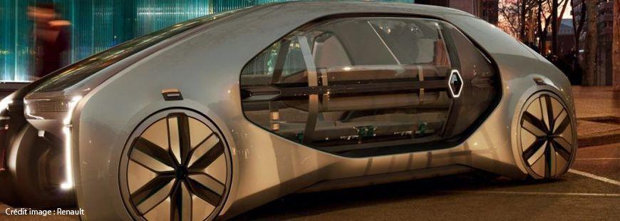 EZ-GO est un robot-taxi autonome 100 % électrique