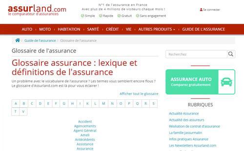 glossaire-assurance-assurland
