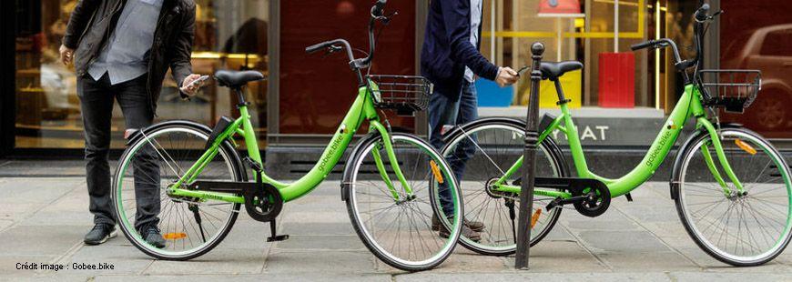 Les vélos verts en libre-service de Gobee.bike vont bientôt disparaître des rues de Paris