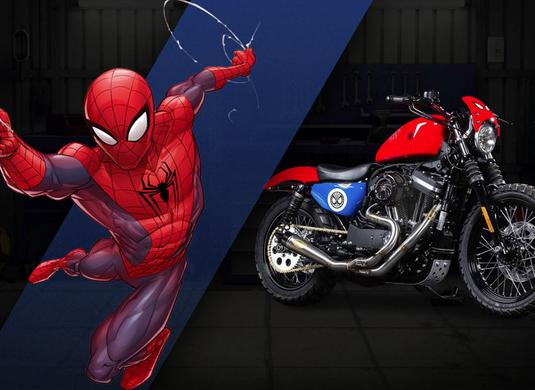 harley-davidson-spiderman