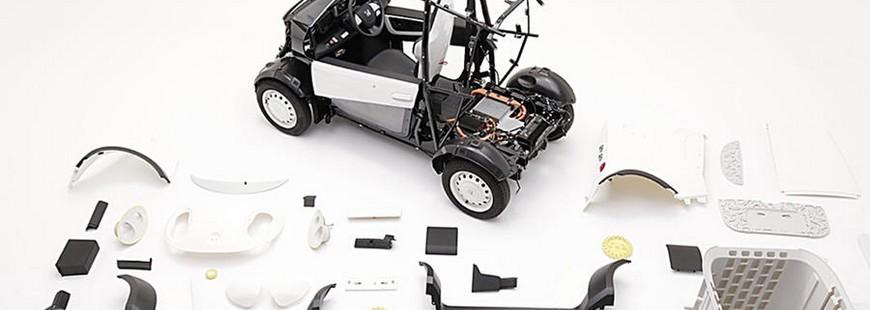 Honda se lance dans l'impression de voitures en 3D