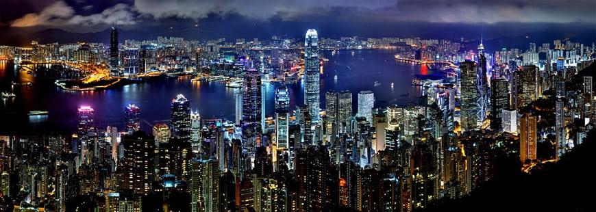 Hong Kong est une ville surpeuplée