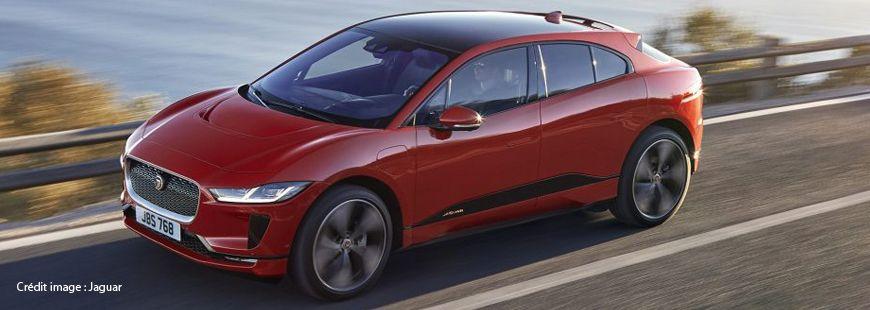 Jaguar va présenter son crossover électrique de luxe, le I-Pace