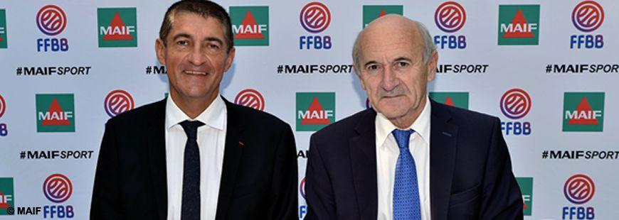 La MAIF poursuit son engagement sportif avec la FFBB
