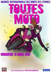 Toutes en moto pour la Journée de la femme