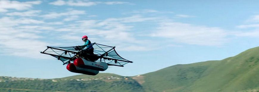 Le Kitty Hawk Flyer est un prototype d'engin volant