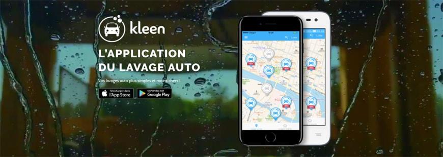 Grâce à l'application Kleen, laver sa voiture n'est plus un calvaire