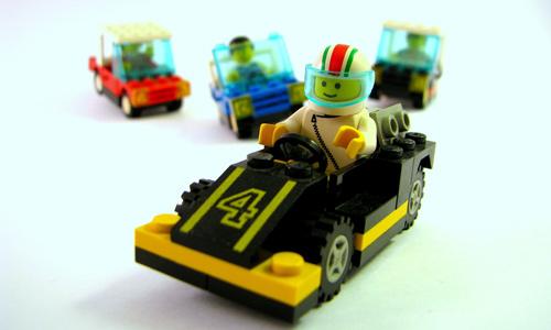 Offrez une voiture Lego!