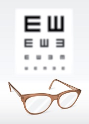 Corriger la myopie avec des lunettes !