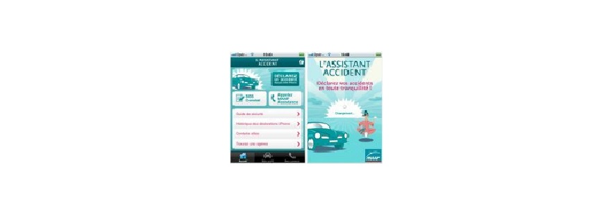 Maaf-application-assistant accident