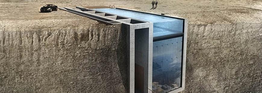 Casa Brutale : une idée insolite de maison creusée