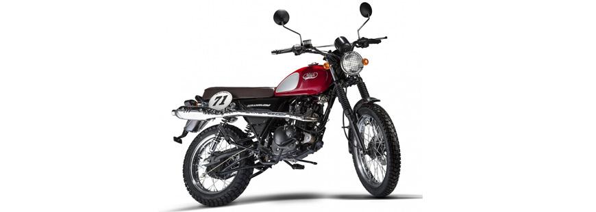 Un moto néo-rétro de la marque Mash