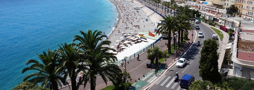 La métropole Nice Côte d'Azur va des deux-roues motorisés électriques