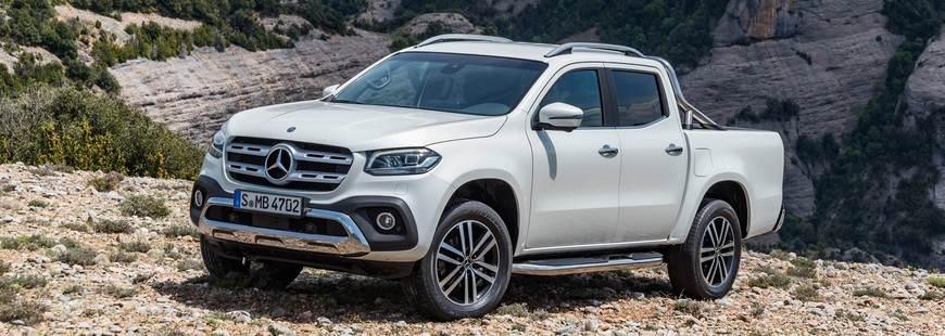 Mercedes aussi investit le marché du pick-up