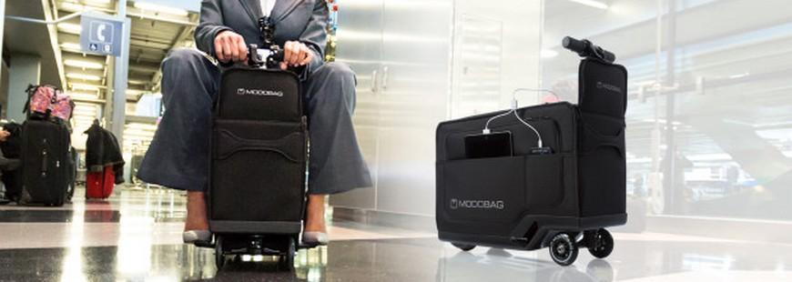 Une valise connectée sur laquelle vous pouvez grimper arrive sur le marché