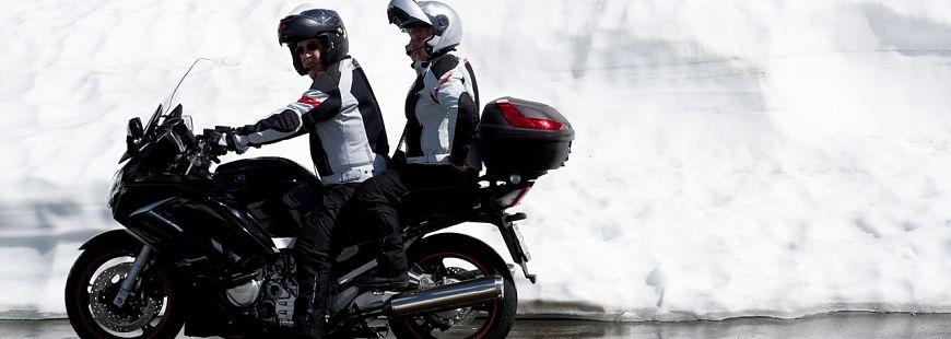 Quel équipement moto pour l'hiver ?