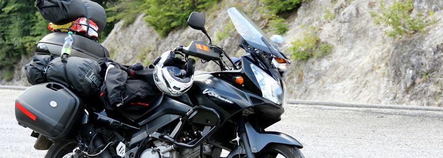 Bien charger sa moto en vacances est une question de sécurité !