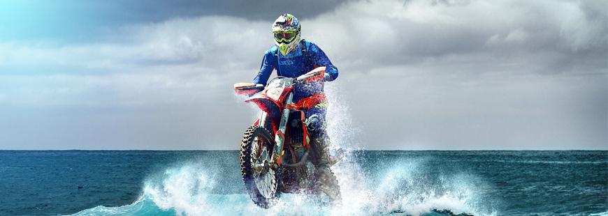 Comment une moto peut-elle rouler sur l'eau ?