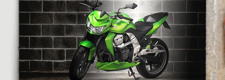 Mettez votre moto à l'abri l'hiver