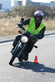 Plus de couleur flahy pour les motards
