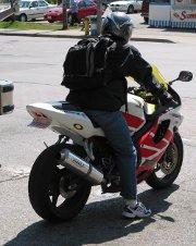 Un jean comme protection moto !